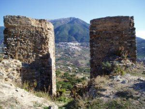 Castillo de Zalia, en Alcaucín