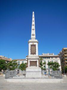 Monumento al General Torrijos en la plaza de la Merced.